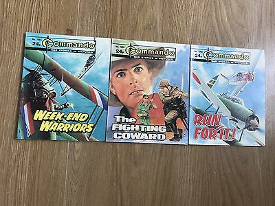 Commando comics x3 - Consecutive No. 1964 - 1966 - VERY good condition
