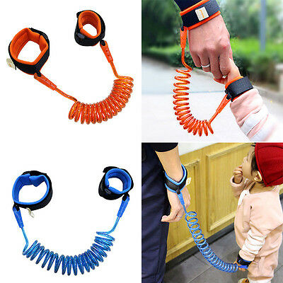 Pop Kids Anti-Lost Strap Baby Toddler Security Harness Hand Band Link Kid Keeper