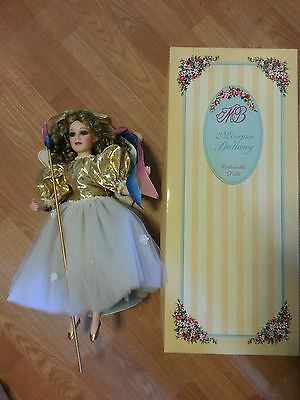 "Iris 20"" Porcelain Doll Morgan Brittany Victorian Angel LE Original Box COA Tag"
