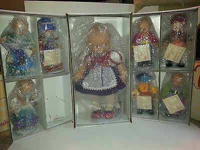 "Effanbee Snow White and Her Seven Kewpies Original Boxes, 8"" & 16"" Make Offer"
