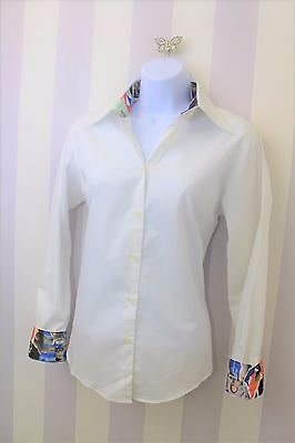 Team GB Ben Sherman Uniform Shirt Photo Cuff Athens 2004 OLYMPIC Fitted 12
