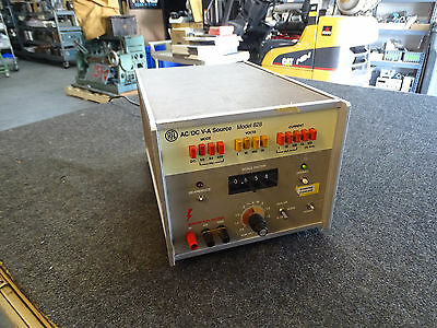 Clarke Hess / RFL 828 AC/DC V-A Power Supply Current Calibrator