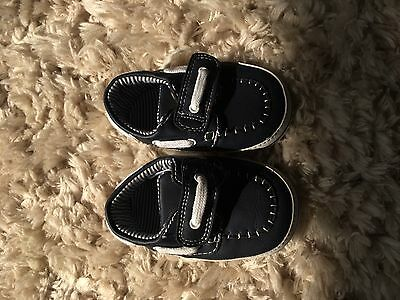 Baby Boys Boat Shoes Mothercare Size 1