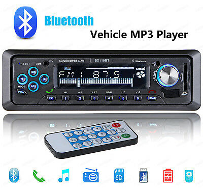 Car Radio BLUETOOTH/USB/SD/MP3/AUX-IN/FM/CALL/STEREO/1 DIN/