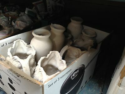 'Job Lot' of Ceramic Greenware, Bisque pieces and various other things