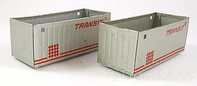 Set 2 offene Container TRANSIT MSW grip Spur S