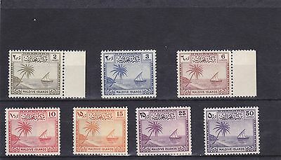 Stamps of te Maldives.