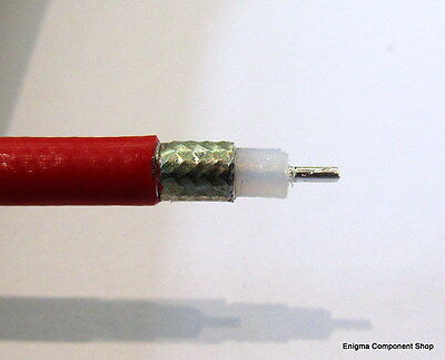 Huber + Suhner Sucoform SM-141-TC-FEP 50Ω Coaxial Cable. UK Seller/Fast Dispatch