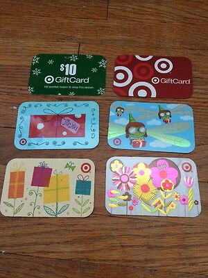 Target Gift Cards - No Value