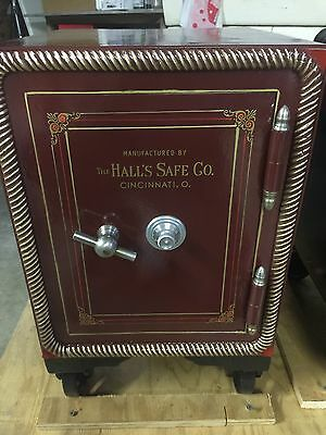 Antique Restored Joseph Hall Watchmakers  Safe Small