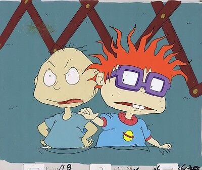 RUGRATS Production Cel Cell Original Animation Art Nickelodeon Nick COA Pickles