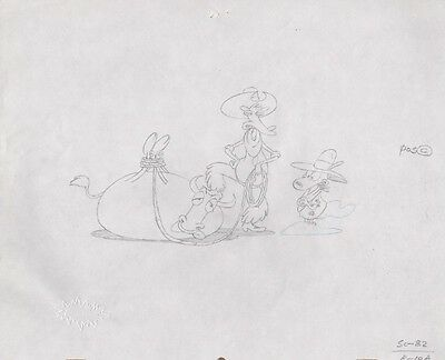 ROCKO'S MODERN LIFE Cell Original Production Cel Drawing Nickelodeon COA Murray