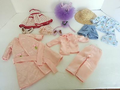 Lot of Betsy McCall Doll Clothes P.J.S Robe Dress Ballet Shoes Robert Toner 1996