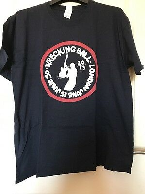 Bruce Springsteen - London 2013 Wrecking Ball Event T Shirt XL