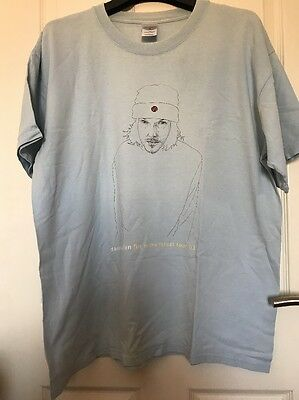 David Sylvian Japan - 2003 A Fire In The Forest Tour T Shirt XL