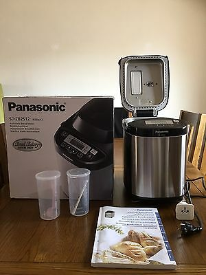 Panasonic sd-ZB2512 kxe bread maker