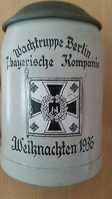 German ww2 beer stein
