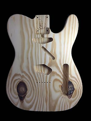 Guitar Body Telecaster / yellow pine /2pc/2.76kg/003616