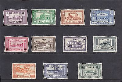 Stamps of the Maldives.