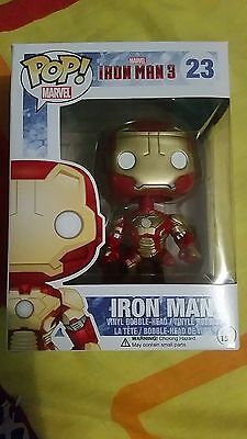 Iron Man - Pop! Vinyl Bobble-Head Figure * NEW In Box * Funko * Marvel superhero