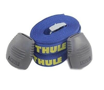 Thule Logo 9 Foot Tie Down Straps with Bumpers