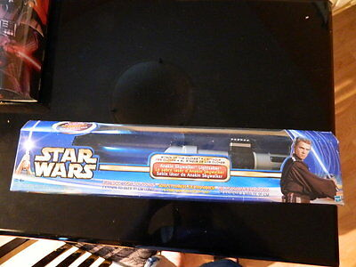 Star Wars Attack Of The Clones AOTC Anakin Skywalker Lightsaber Canadian Version