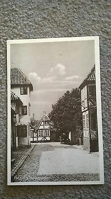 Faaborg Holkegade Vintage Postcard