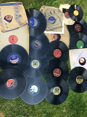 A large collection of old 78 rpm records. No Reserve!