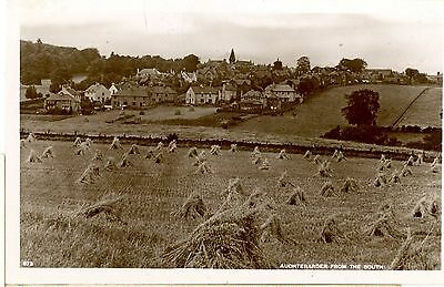 POSTCARD-SCOTLAND,AUCHTERARDER FROM THE SOUTH-RPPC,UNPOSTED .sb 173