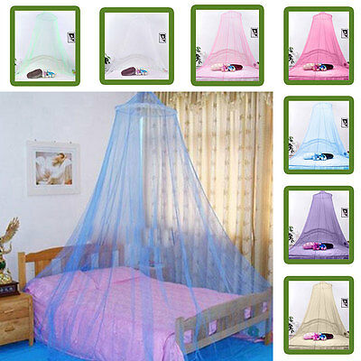 Mosquito Net Netting Mesh Bed Canopy Fly Insect Prevent Round Dome Lace Net AU