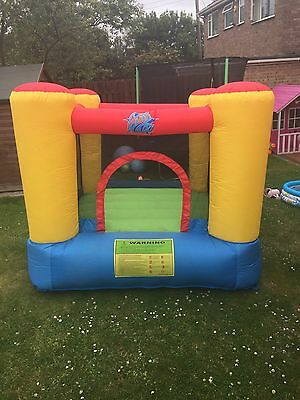 Children's Bouncy Castle Kids Outdoor Play Jumping Inflatable Activity Fun
