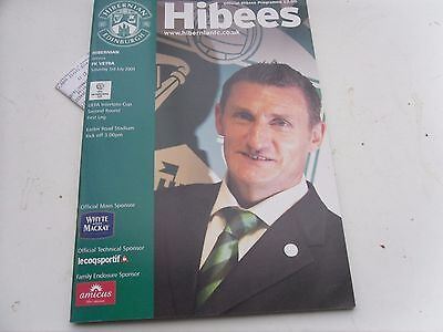 2004 Intertoto Cup Hibernian  Scotland V  Fk Vetra  Lithuania