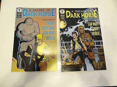 A Decade of Dark Horse #'s 2 and 4!! Star Wars and Concrete!!! LOOK!!!