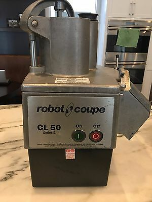 Robot Coupe CL 50 Series E Commercial Food Processor in good working condition.