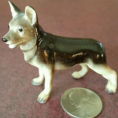 Vintage Hagen Renaker German Shepherd Dog Figurine #1