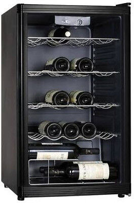 Lemair - 40 Bottle Wine Cooler, Black LWC59