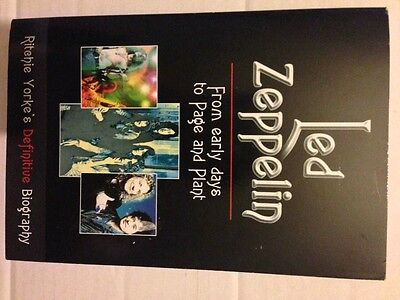 Led Zeppelin: the Definitive Biography by Ritchie Yorke (Paperback, 1999)