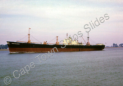 Original Colour Slide Of The Cargo Ship Agios Nicolaos Ii