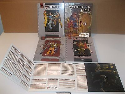 Lot of 5 D20 Modern Roleplaying books Urban Arcana Menace Core Wheel of time rpg