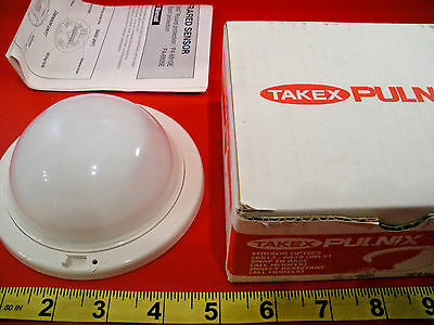 Takex PA-6810E Passive Infrared Sensor PIR 360 Round Protection Pulnix Nib New