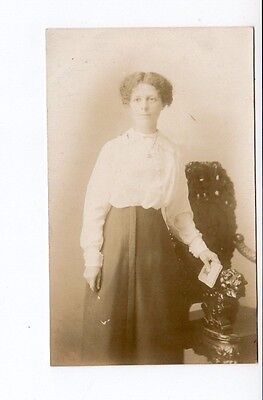 Postcard. Real Photo. Lady Unknown