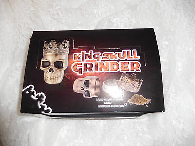 King Skull Herb Grinder - New in Packaging!