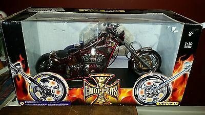 1:10 Scale West Coast Choppers Penny Saved Jesse James Motorcycle JJ04-10-11