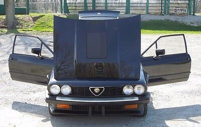 1984 Alfa Romeo GTV6 2.5 Coupe 2-Door 1984 Black Alfa Romeo GTV6 Super Clean California Car New Paint Daily Driver