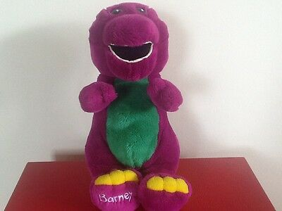 Vintage Barney from Playschool Soft Toy 1997 VGC