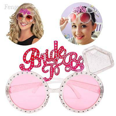 Bride To Be Glasses Pink Bling Diamond Ring Sunglasses Summer Hen Night Party De