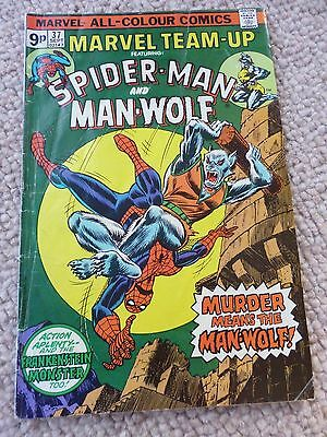Marvel Team-up Spider-man and Man-Wolf : Issue #37