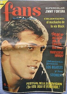 Fans:n.42- Adriano Celentano-Rolling Stones-Bobby Solo-Beatles-Francois Hardy