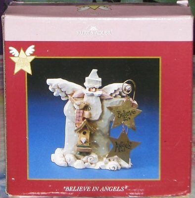 Kurt S. Adler BELIEVE IN ANGELS Figure Angel Figurine In Box