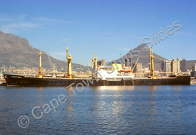 Original Colour Slide Of The Cargo Ship Adrico Unity